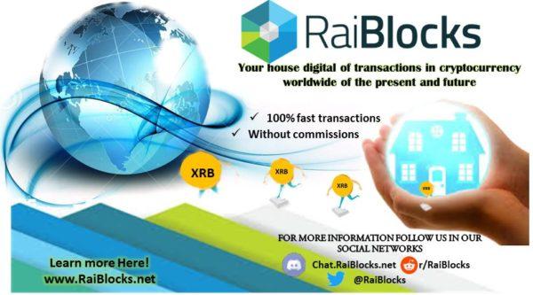 RaiBlocks (XRB)